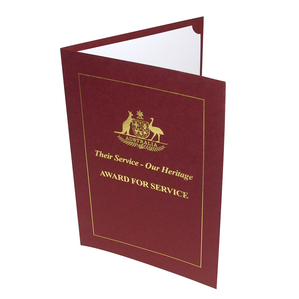 certificates testamurs covers  u0026 folders